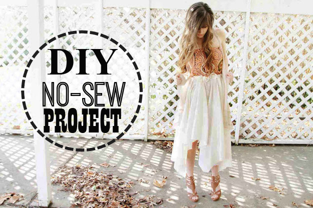 No-sew DIYs that are simply genius!