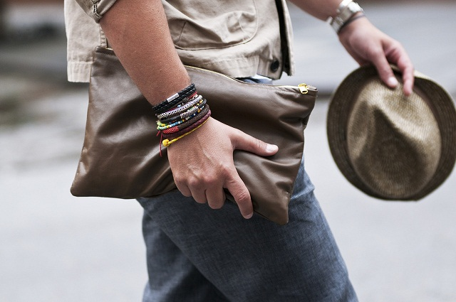 When is it acceptable for men to wear jewelry?