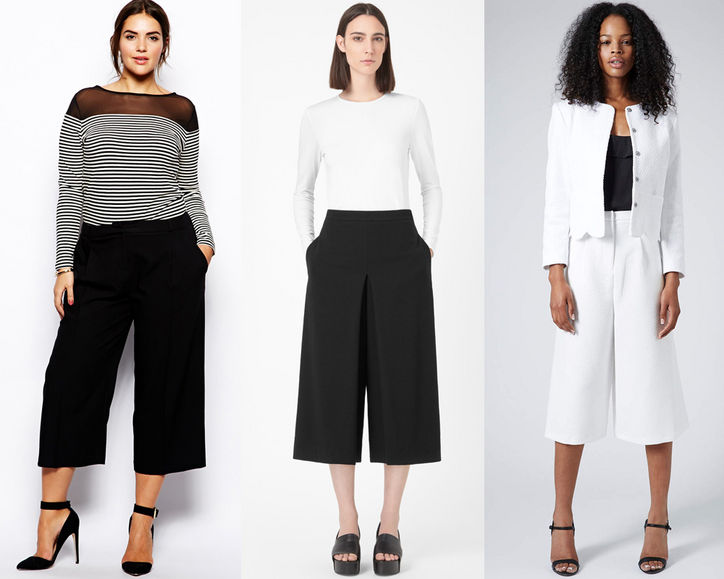 How do you wear a culotte that fits your body shape?
