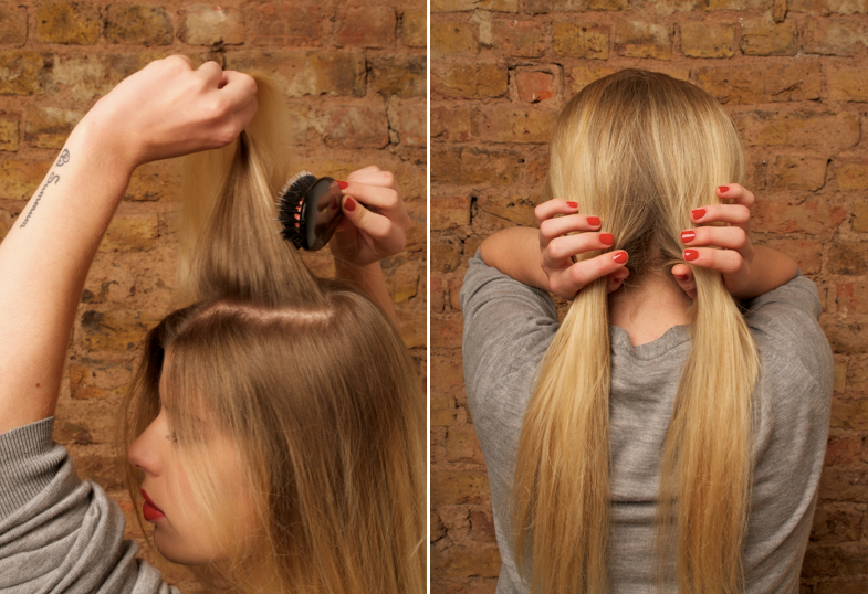 Ways to style straight hair